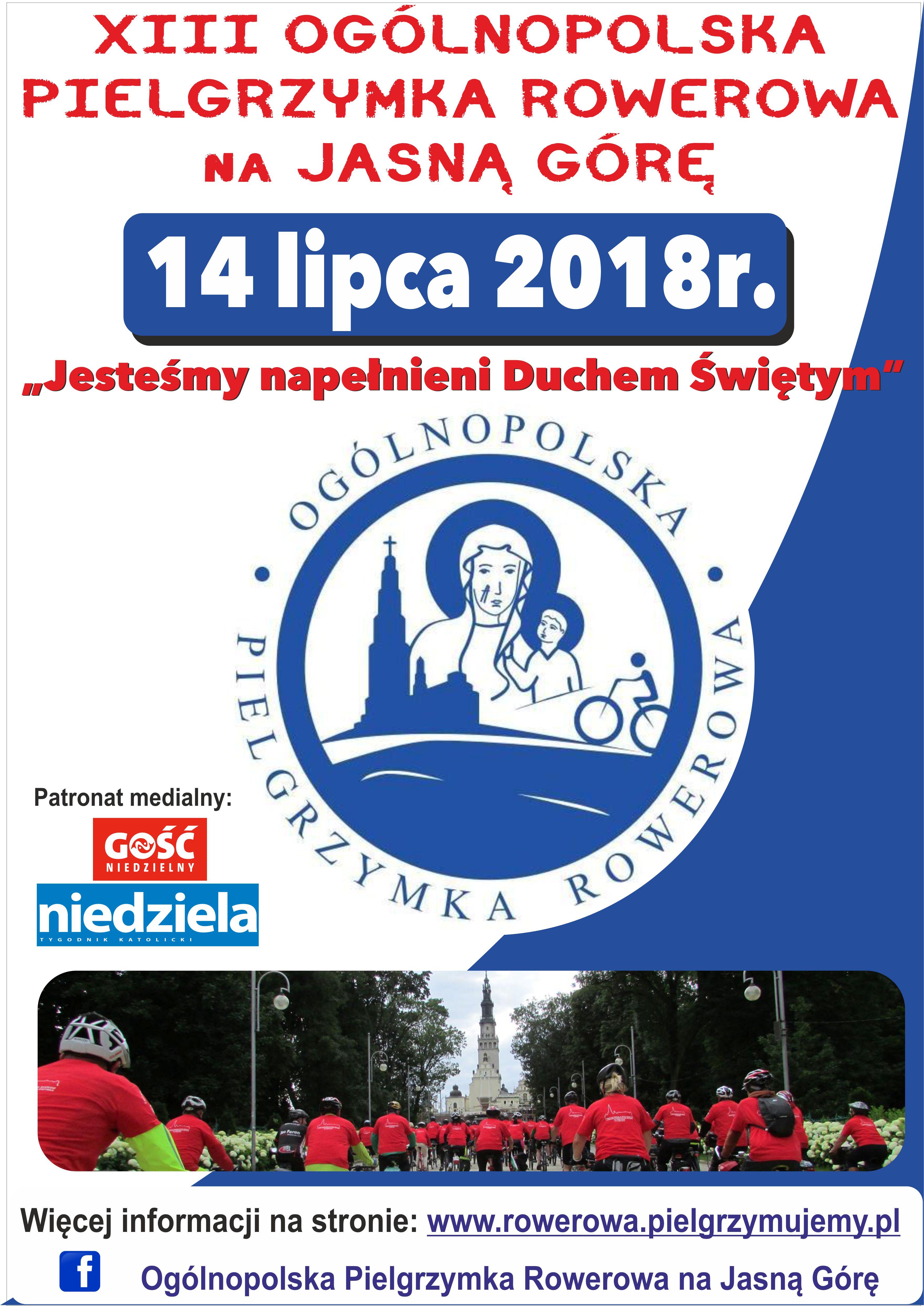 XIII Pielgrzymka Rowerowa